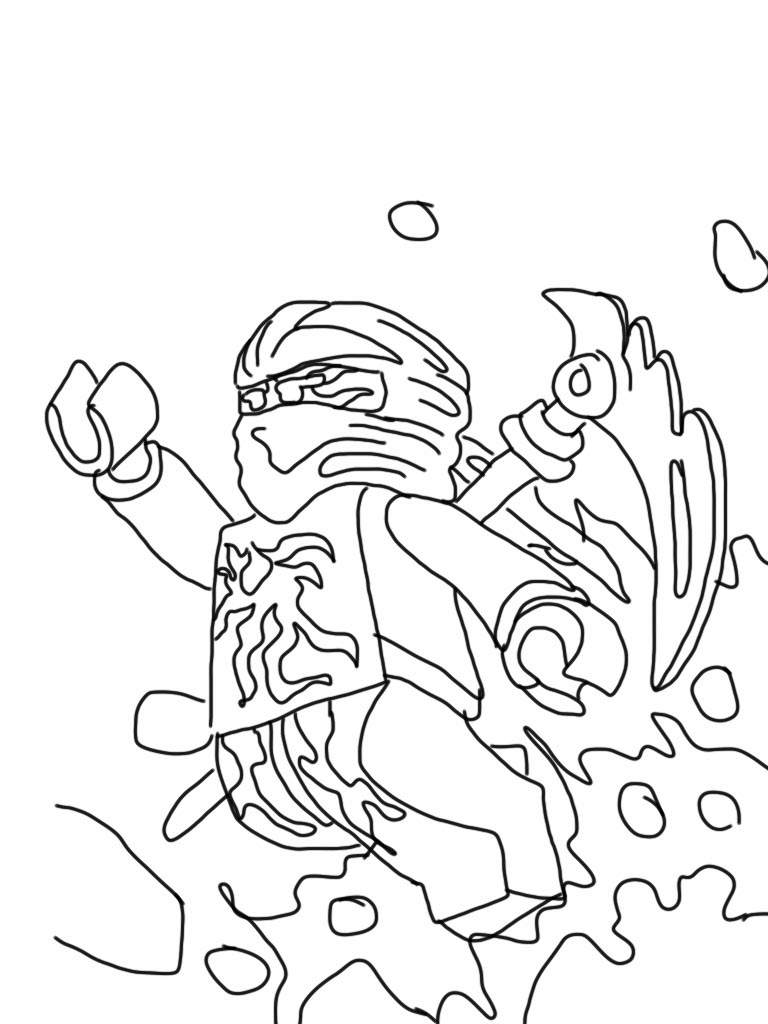 Printable Lego Ninjago Coloring Pages For Boys Free Printable