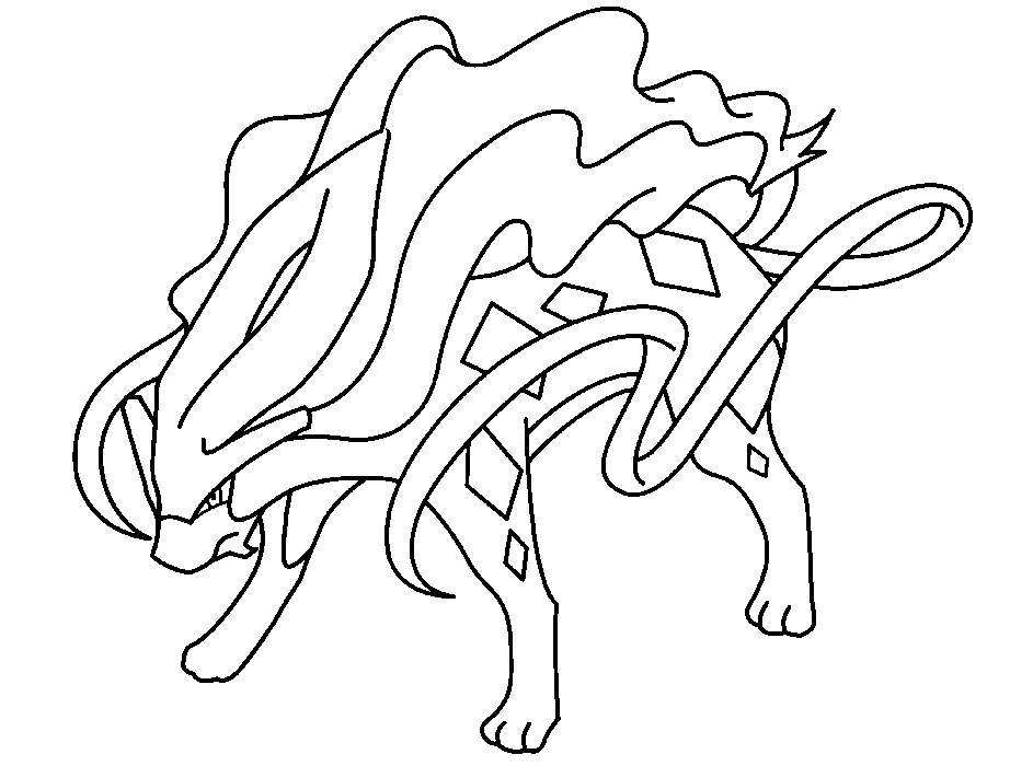 Free Printable Legendary Pokemon Coloring Pages Coloring Sheets printable