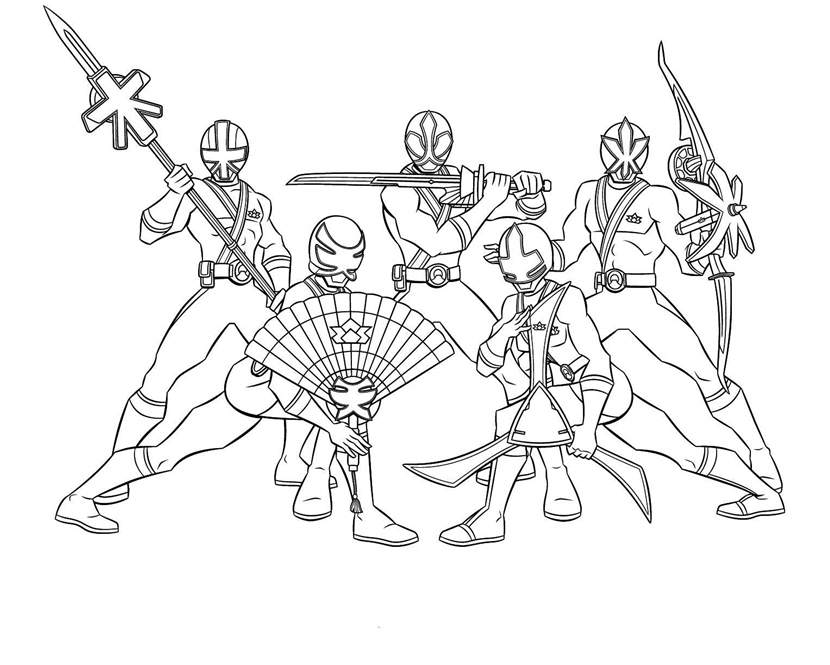 Free Printable Power Rangers Coloring Pages Free to Print printable