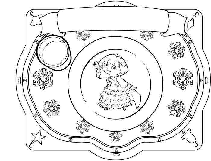free download dora coloring pages - photo#42