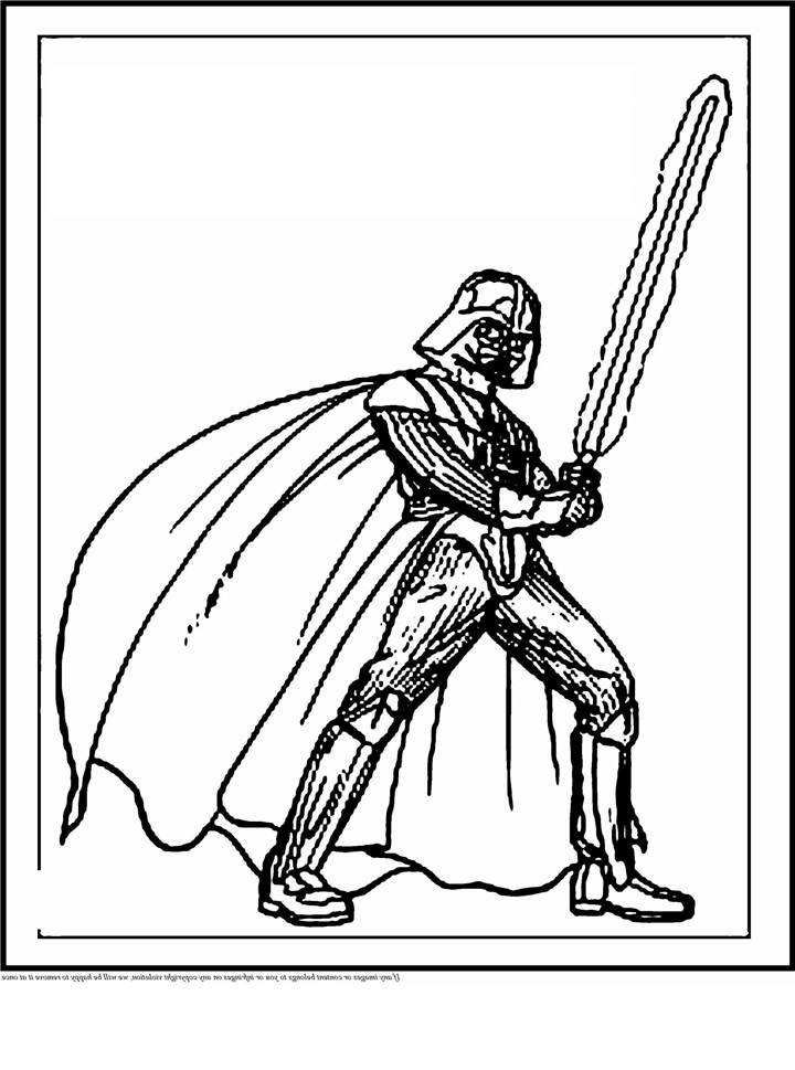 Star Wars Darth Vader Coloring Pages Fan Art