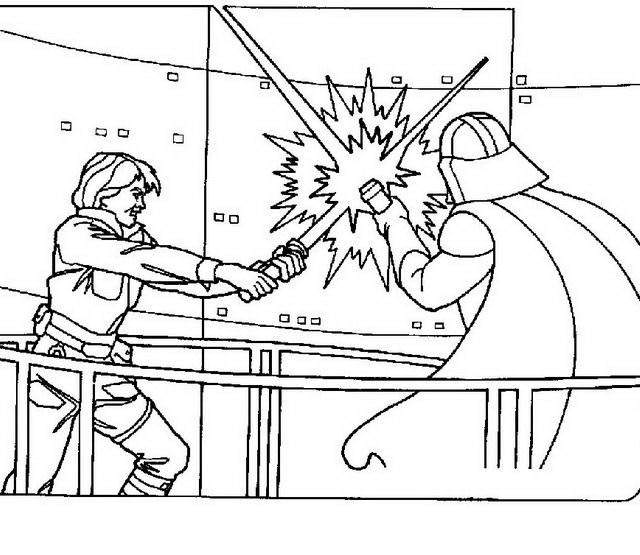 The Darth Vader Coloring Pages Black and White - Free ...