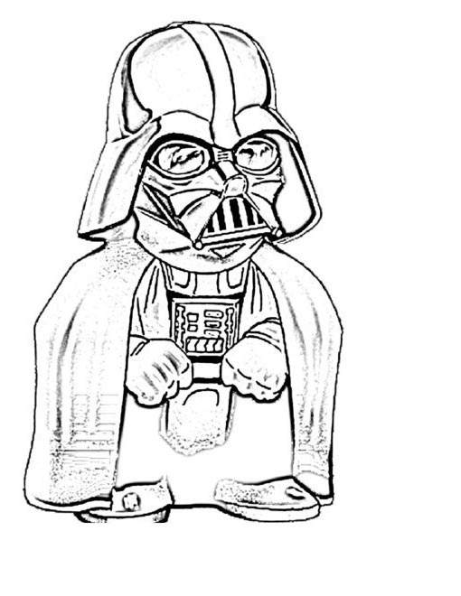 Free The Darth Vader Coloring Pages Coloring Sheets printable