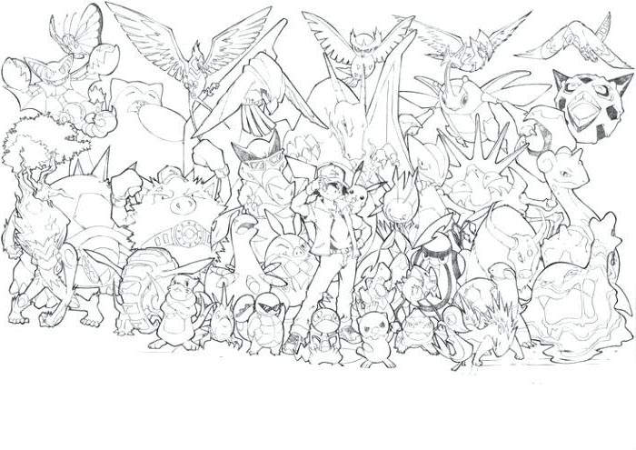 The Legendary Pokemon Coloring Pages Activity Free Printable