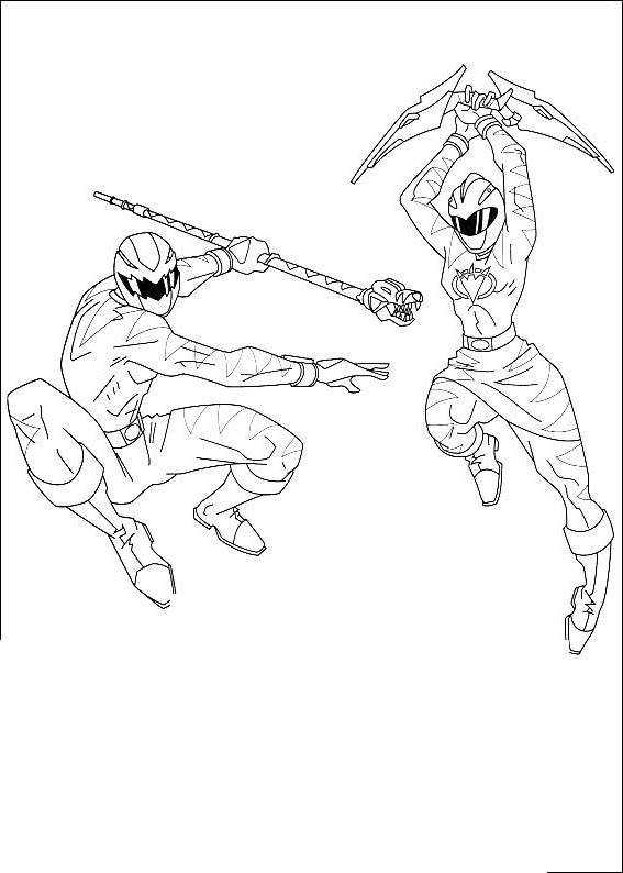 The Power Rangers Coloring Pages For Adults Free Printable