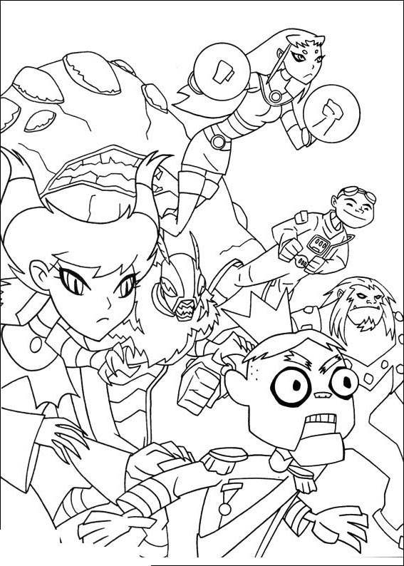 Free The Teen Titans Coloring Pages Free to Print printable