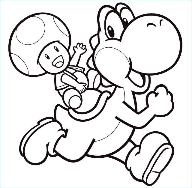 Free The Yoshi Coloring Pages Free to Print printable