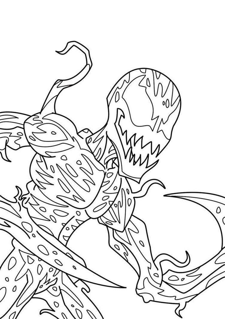 Wonderful Carnage Coloring Pages