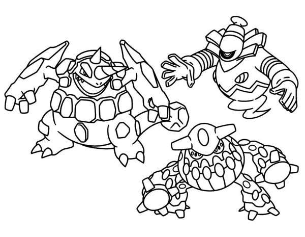 Free Wonderful Legendary Pokemon Coloring Pages printable