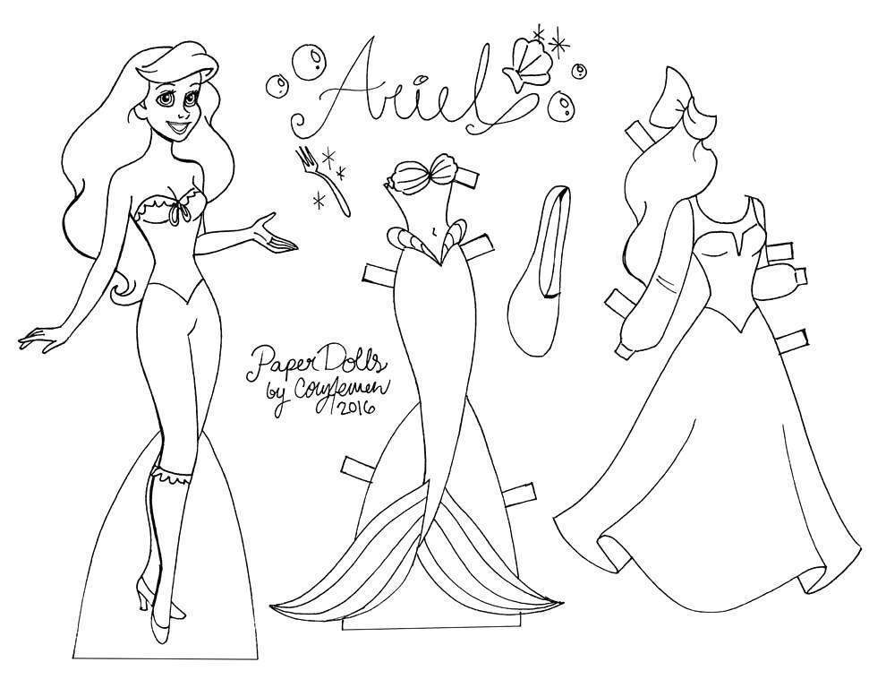 Free Ariel Coloring Pages Fresh for Kids Disney Princess Baby 2124 printable