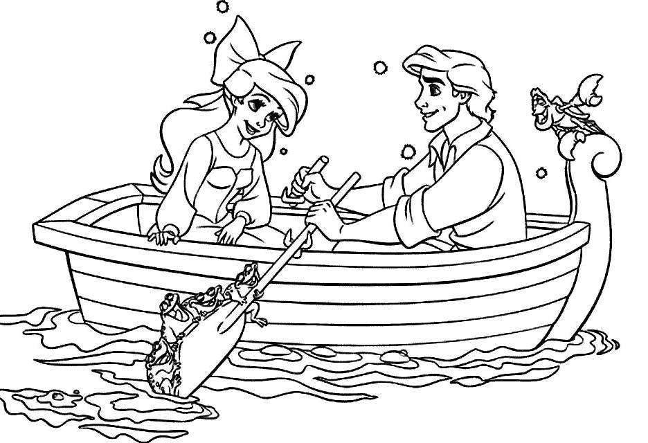 Free Ariel Coloring Pages New for Kids Disney And Eric 2260 printable