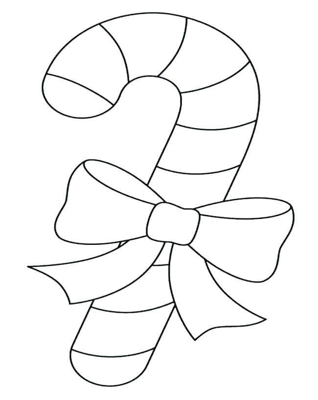 Candy Cane Coloring Pages Linear 234 Free Printable Coloring Pages