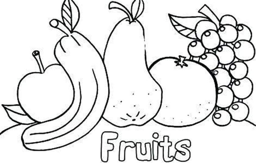 Free Cornucopia Coloring Pages Black and White printable