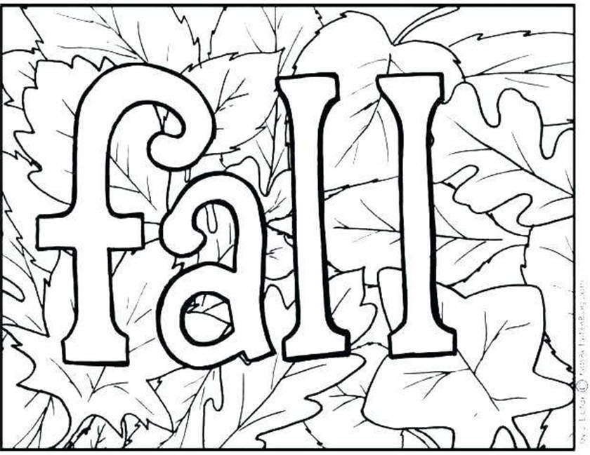 Cornucopia Coloring Pages Thanksgiving At Fall Free Printable