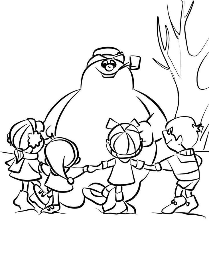 Frosty The Snowman Coloring Pages Free For Adults Kids 111 Free