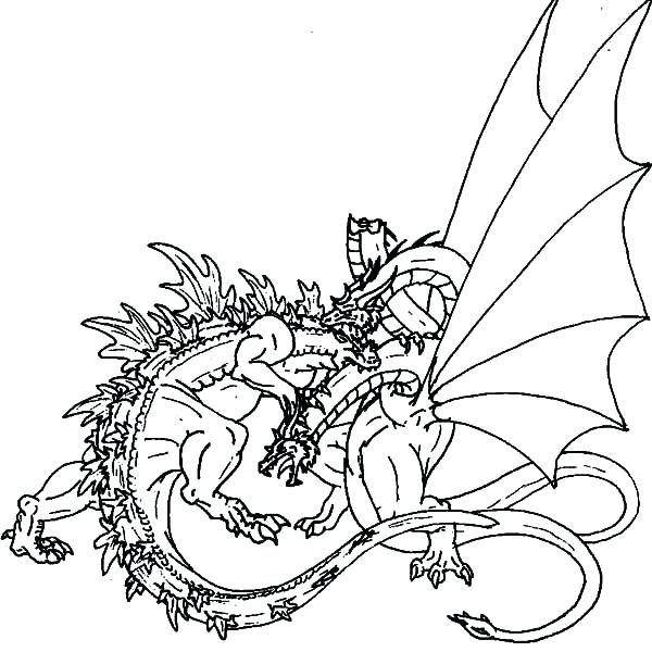 Godzilla Coloring Pages New Lineart Page Online 401 Free Printable
