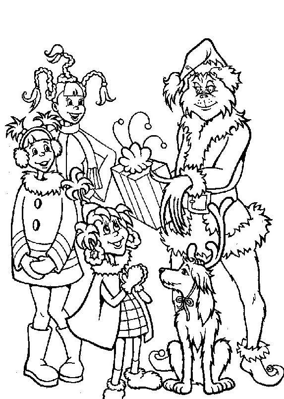 Grinch Coloring Pages Clipart Free Printable Coloring Pages