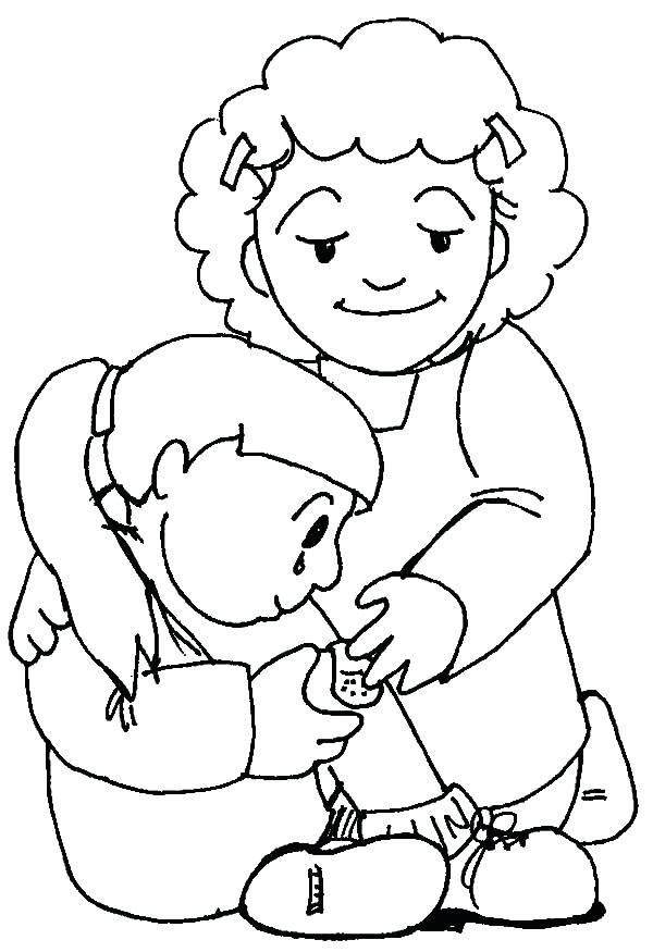 Kindness Coloring Pages Free Drawings