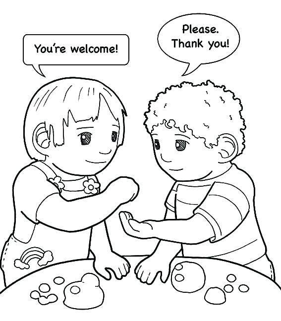 kindness coloring pages worksheet my best friend friend