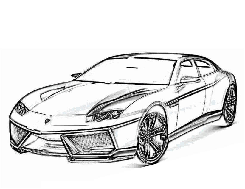 Free Lamborghini Coloring Pages Free Pictures 320 printable