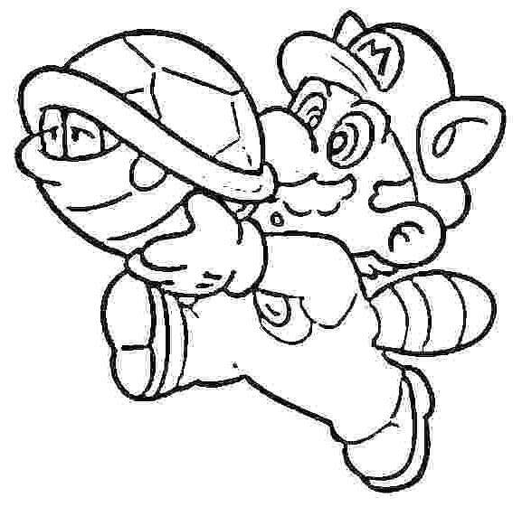 mario kart coloring pages great characters wii new 554