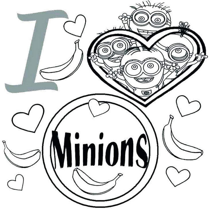 Minions Coloring Pages Coloring Book Kids 3262 Free Printable