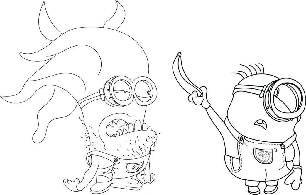 Free Minions Coloring Pages Fancy Printable 3421 printable