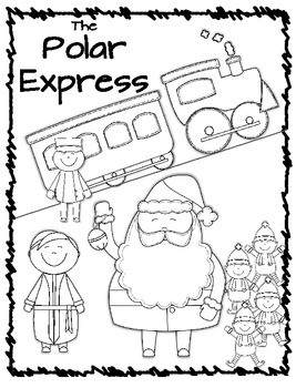 Free Printable Polar Express Coloring Pages printable