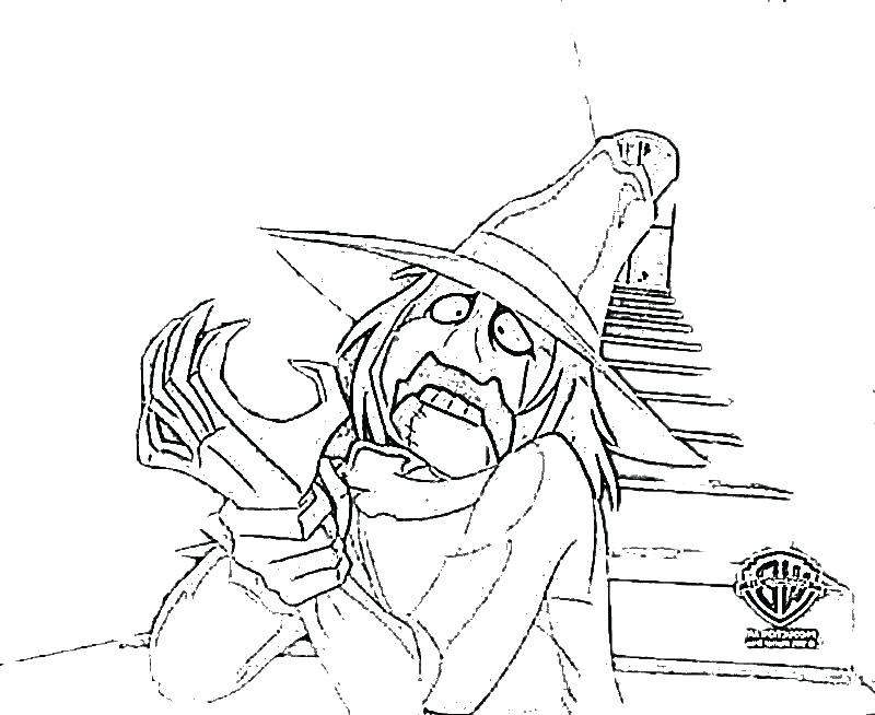 Scarecrow Coloring Pages Easy for Girls Batman Pictures Batman 2051 ...