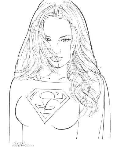 Supergirl Coloring Pages Free for Kids 1381 - Free Printable ...