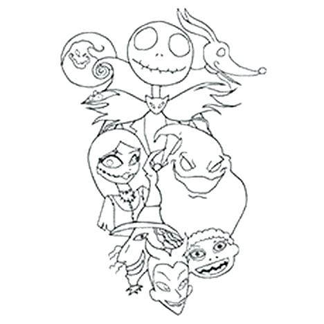 the nightmare before christmas coloring pages worksheet before together with 1740