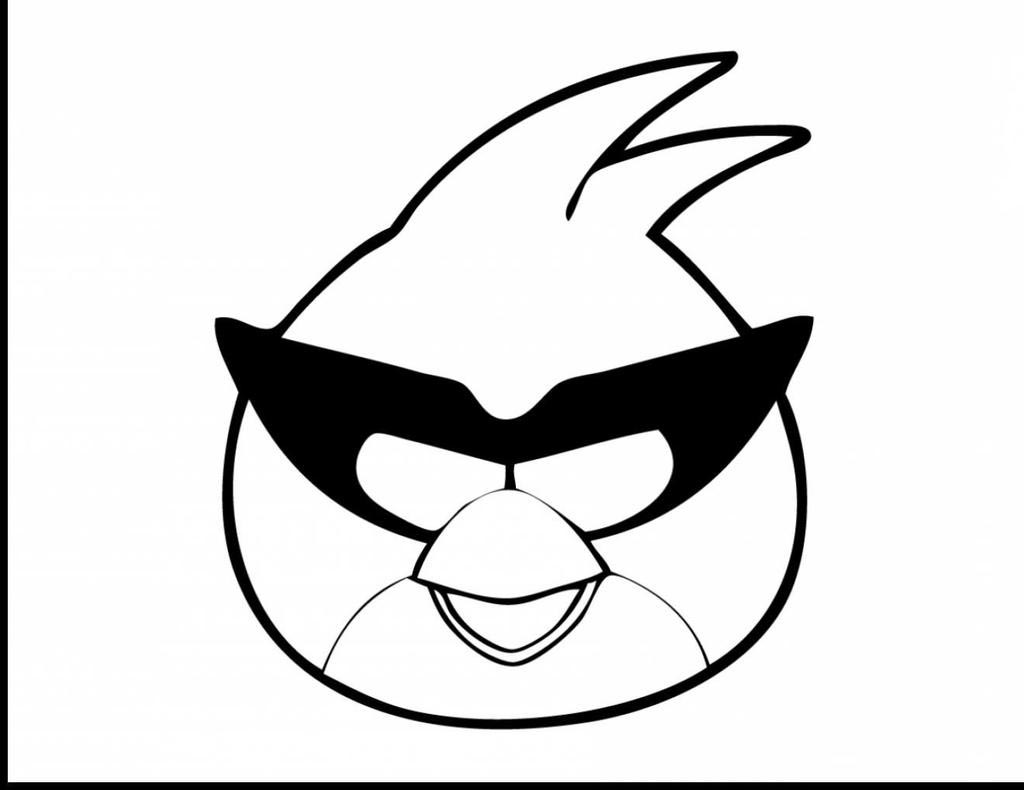 Angry Birds Coloring Pages Bird Kids Fan Art Free Printable