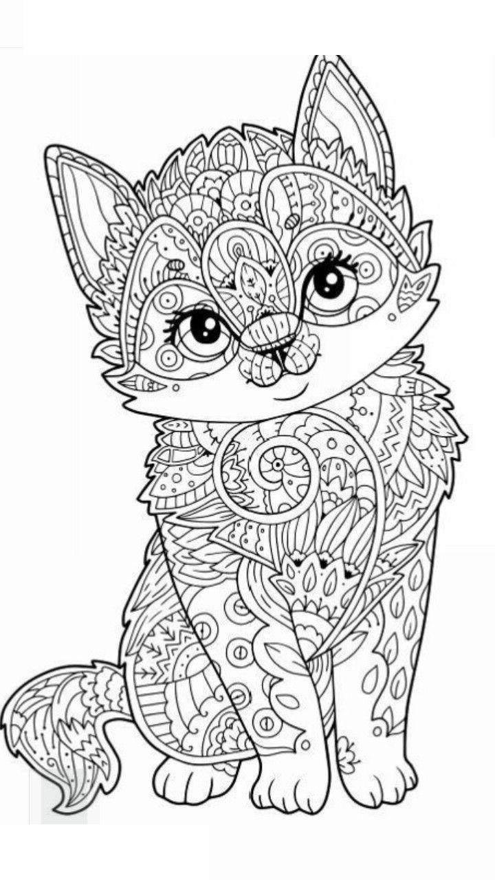 Animal Mandala Coloring Pages Awesome