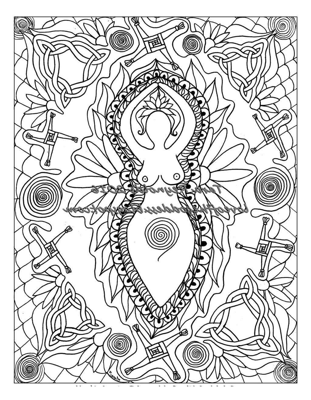 Celtic Mandala Coloring Pages Book Art For Kids Free Printable