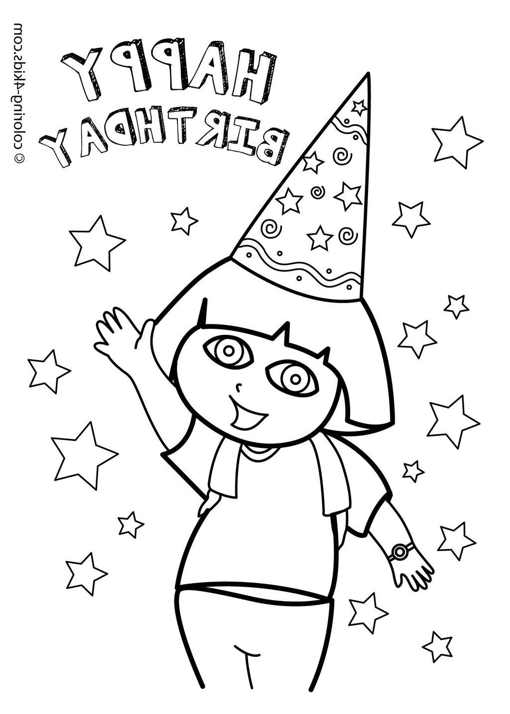 free download dora coloring pages - photo#20