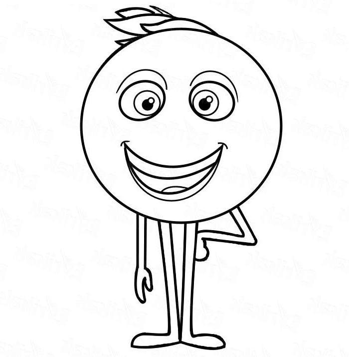 Free Emoji Movie Coloring Pages Free Pictures 2572  printable