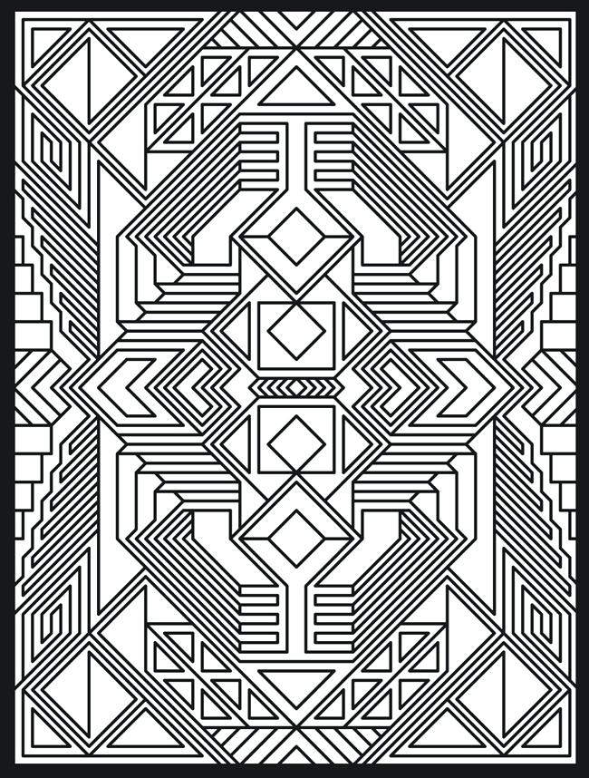 Free Funny Trippy Coloring Pages 134 printable