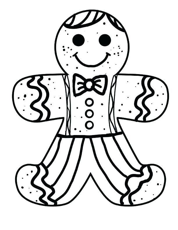 Gingerbread House Coloring Pages Simple For Girls 444 Free