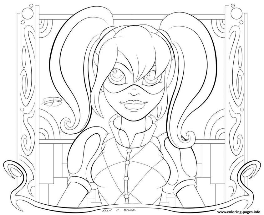 80 Top Harley Quinn Coloring Pages Printable For Free