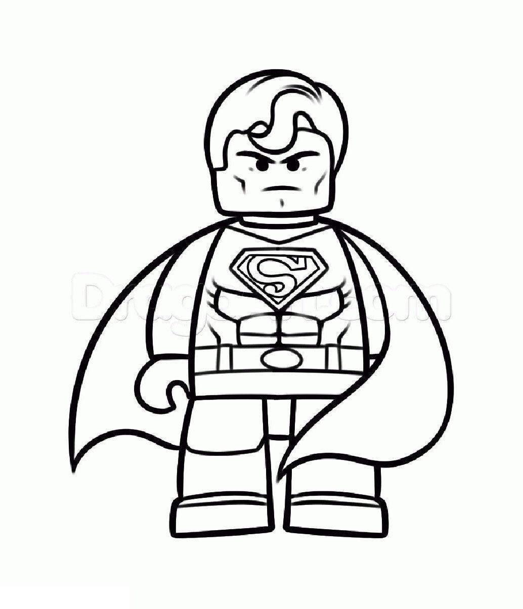 810 The Lego Batman Coloring Pages For Free