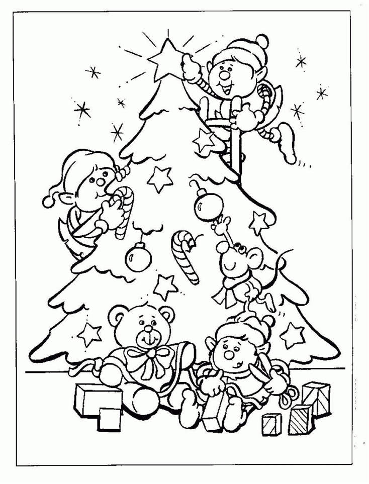mistletoe coloring pages - photo#16