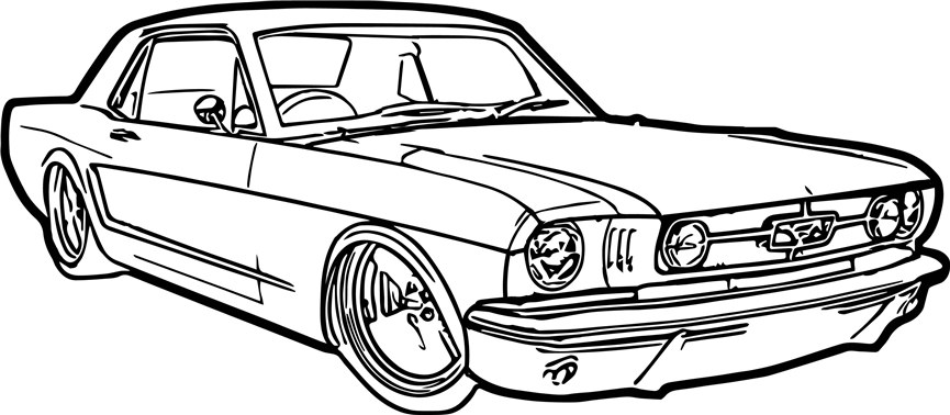 Mustang Coloring Pages Line Drawing 1600 Free Printable Coloring Pages