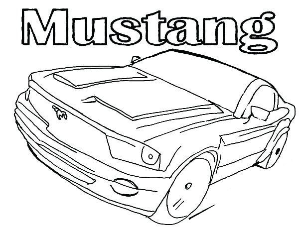 Mustang Coloring Pages Printable For Toddlers Car 1553 Free Rhbettercoloring: Coloring Pages Mustang Car At Baymontmadison.com
