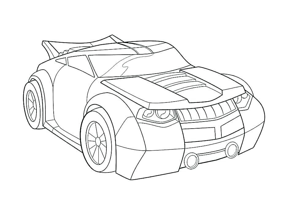 mustang coloring pages simple outline gt car 1741
