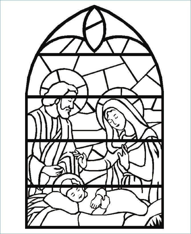 Nativity Coloring Pages Free Outline Baby Jesus Christmas 980 - Free ...