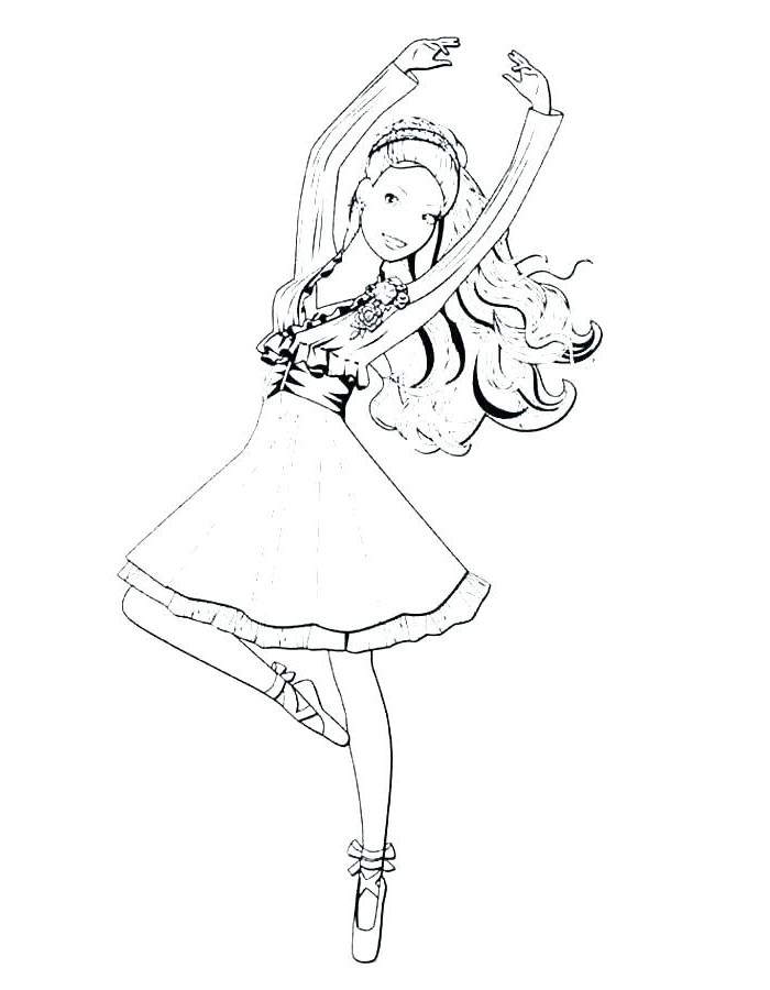 Nutcracker Coloring Pages Printable Lineart Ballet
