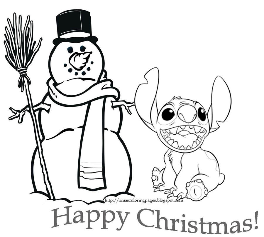 Printable Cute Christmas Coloring Pages Disney Pinterest
