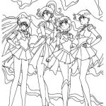 Sailor Moon Coloring Pages Coloring Pages Free Printable Coloring