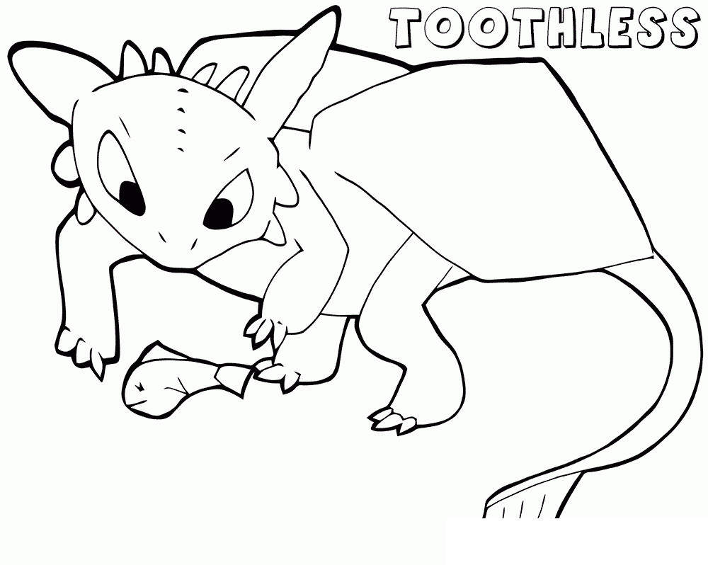 The Toothless Coloring Pages 104 Free Printable Coloring Pages
