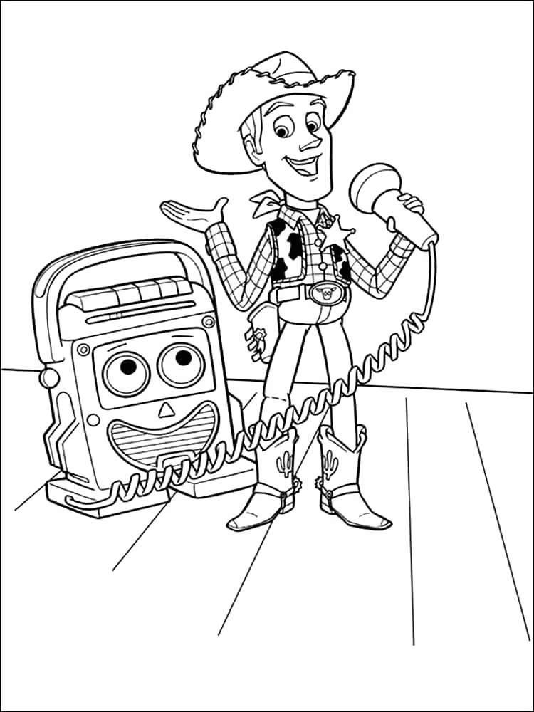 Toy Story Coloring Pages Awesome